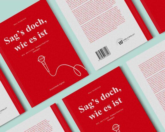 Buch Cover Sag's doch, wie es ist von Marc Hinderlich